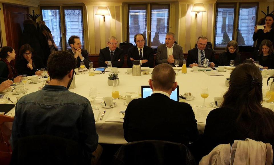 Conférence de presse marchés publics